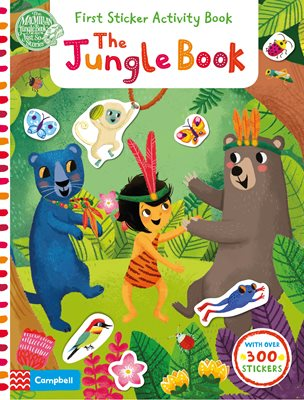 Book cover for The Jungle Book: First Sticker...